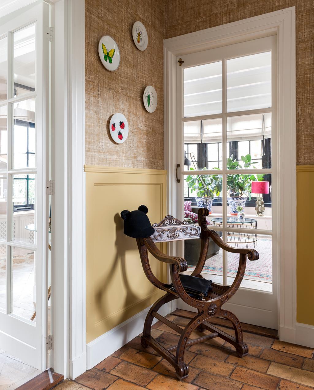 vtwonen binnenkijken special 2019 | binnenkijken in jaren twintig huis in Wassenaar zithoek