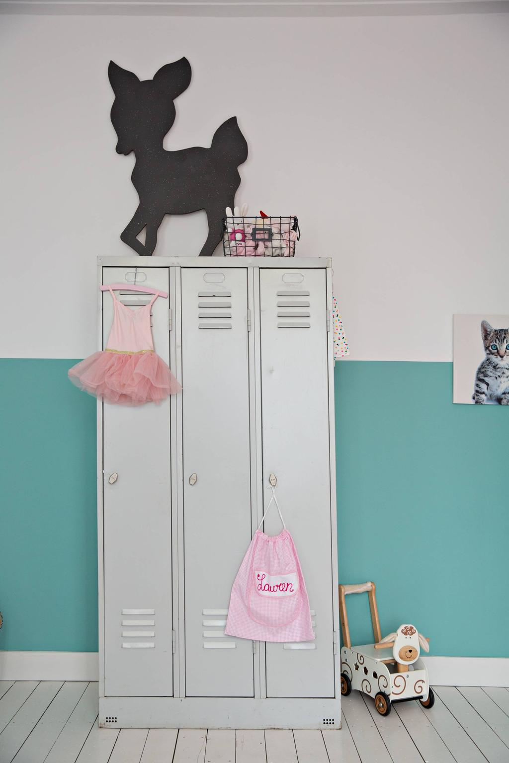 Kinderkamer met locker