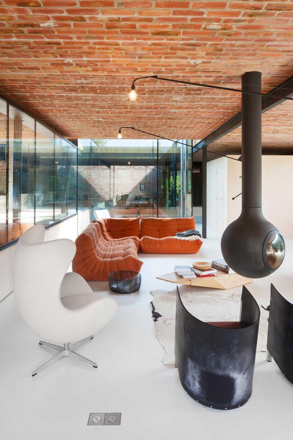 oranje zetel stoel