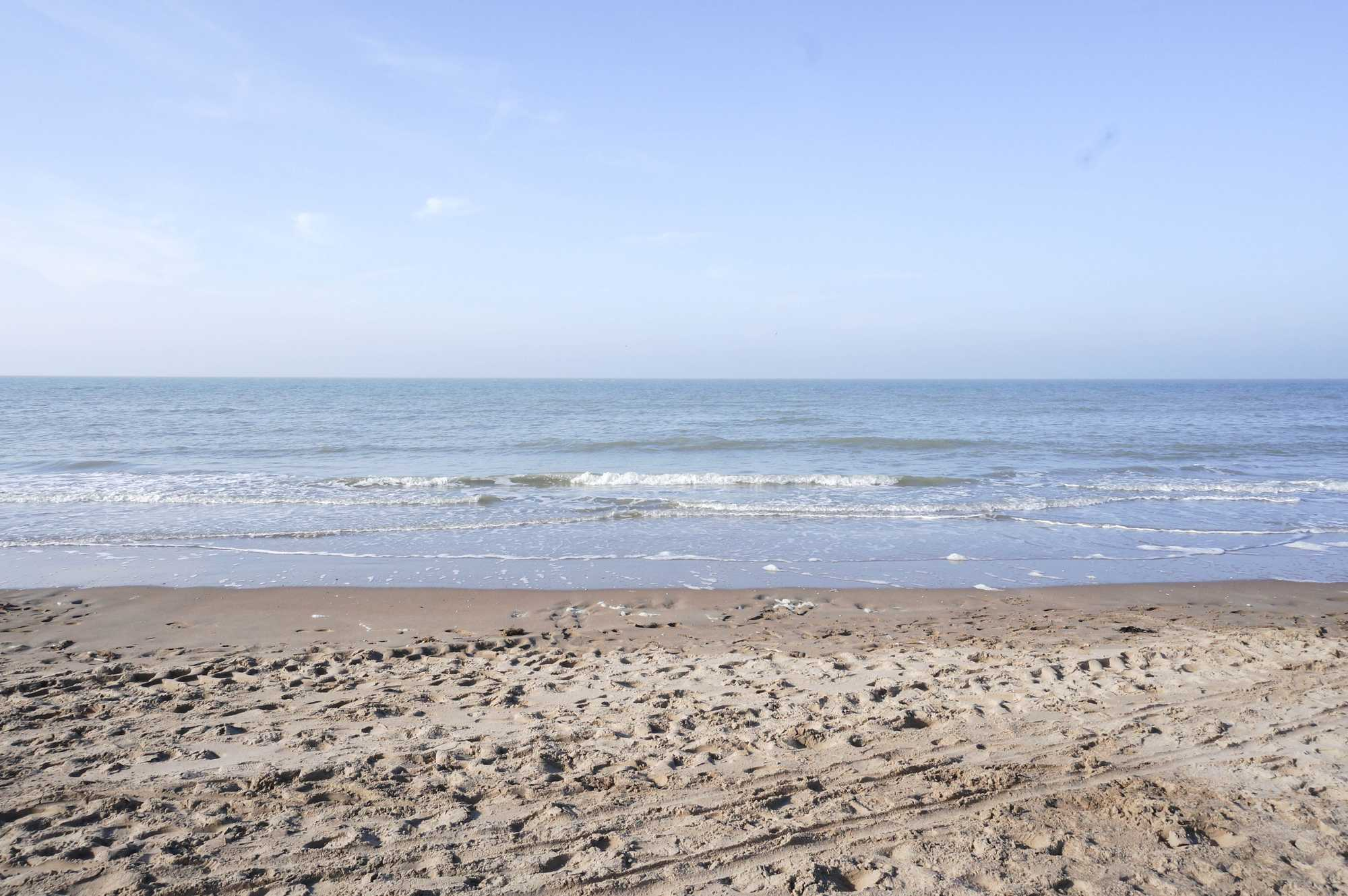 koksijde strand zee