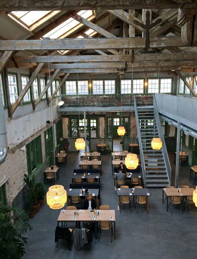 Een van Corriens favorieten: restaurant Lab44
