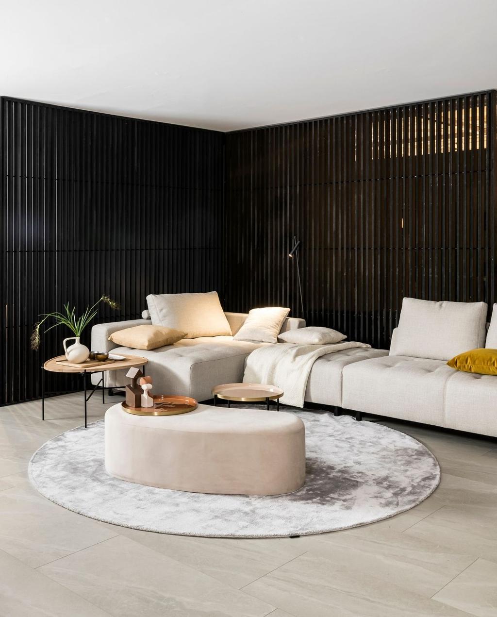 Salon in woonstijl Japandi | Inspiratiebox bij Meubelen Verberckmoes | Uit: Vraag het vtwonen, seizoen 1