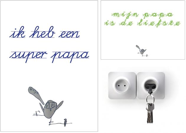 kaarten voor papa