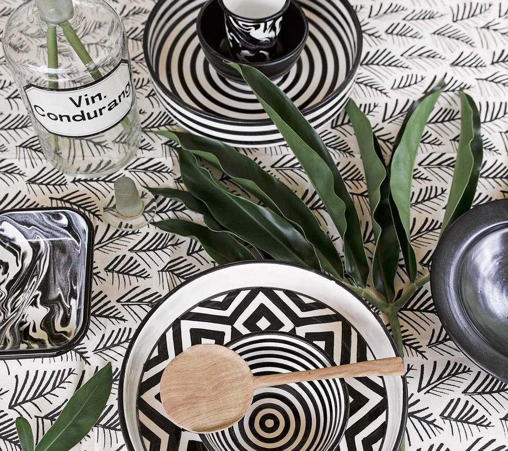 Pick of the week: etnische prints in zwart-wit voor het Afrika-gevoel