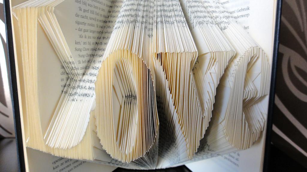 Gevouwen boekenkunst