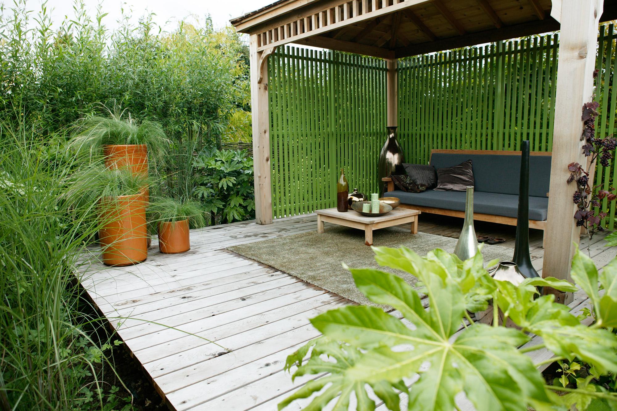 Een nieuwe tuin