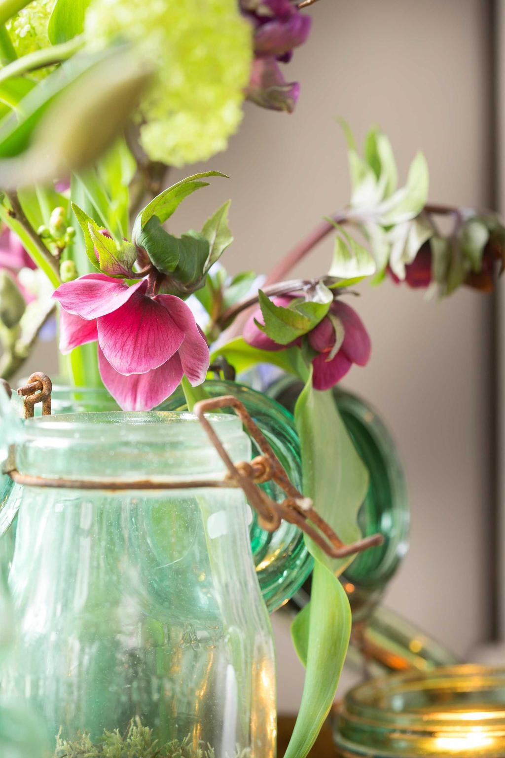 bloemen knollen vaas