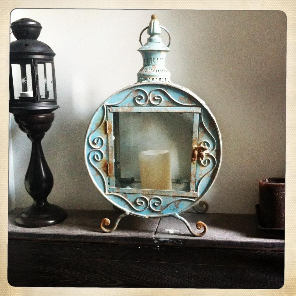 vintage lantaarn
