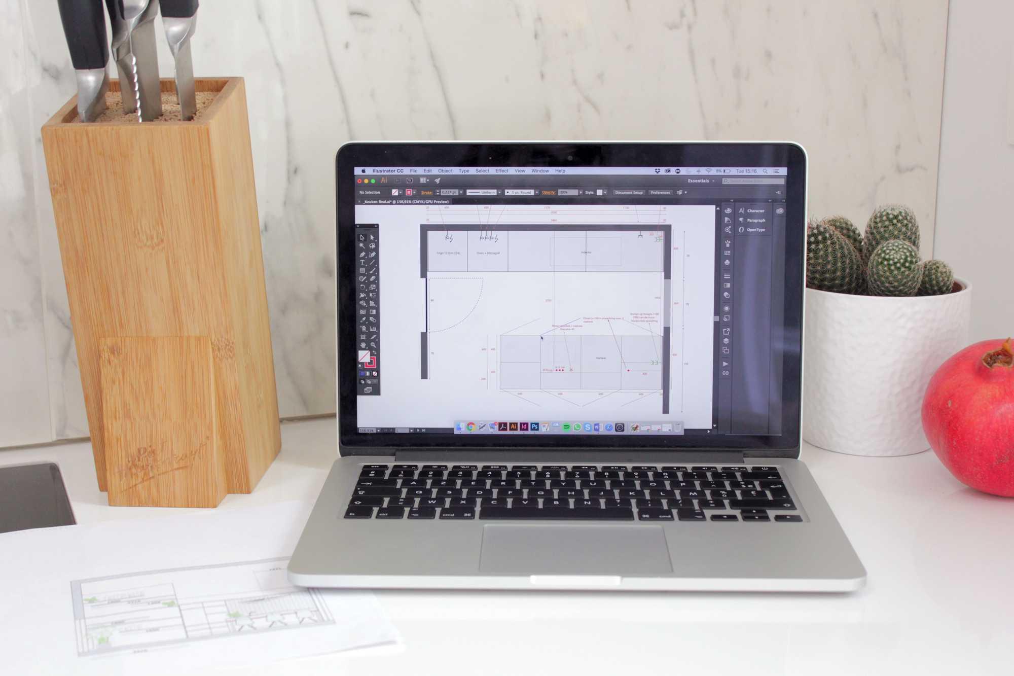 plannen keuken blogger