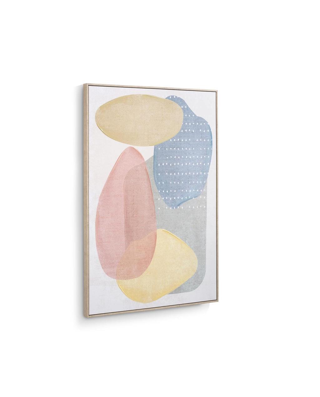 Schilderij met Pastel kleuren van Eijerkamp