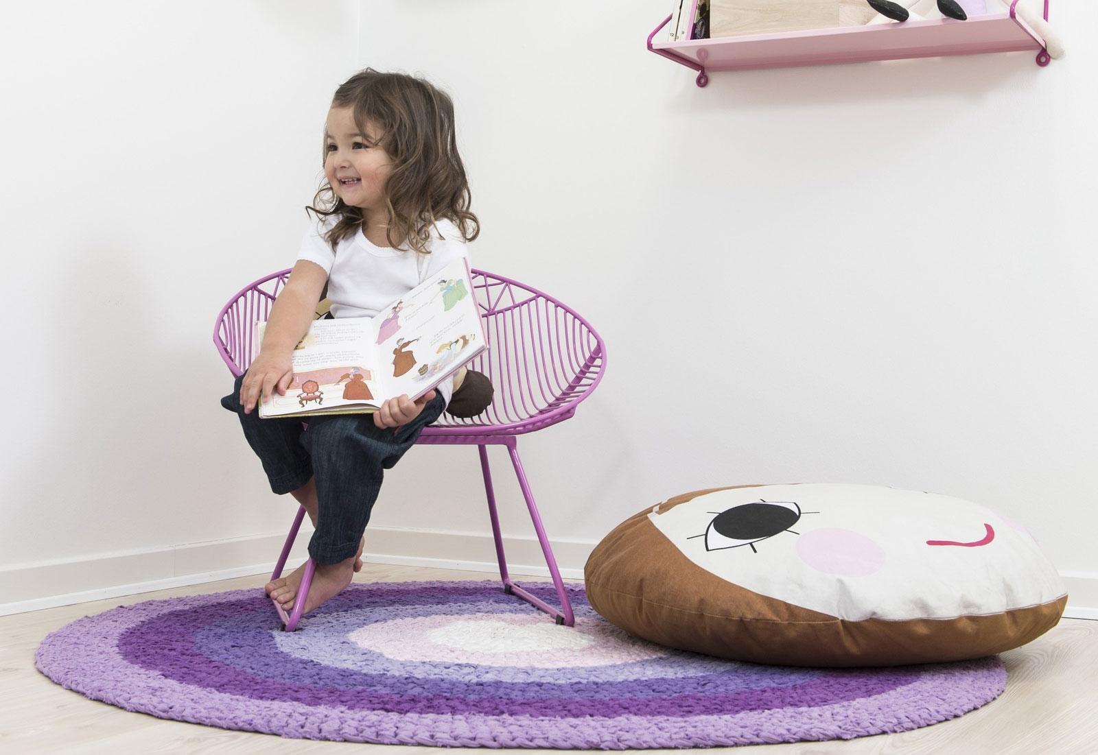 Voor in de kinderkamer: de kinderfauteuil