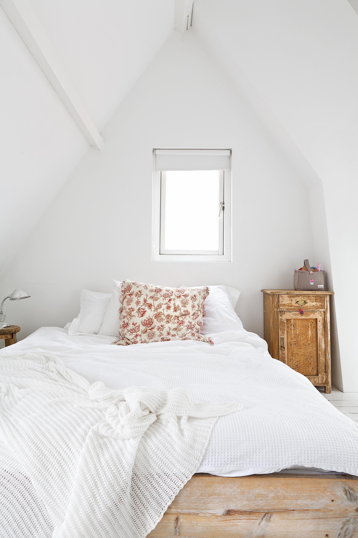 slaapkamer puntdak