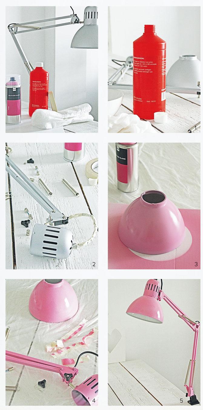Wonderlijk Lamp verven in kleur naar keuze | vtwonen UO-73
