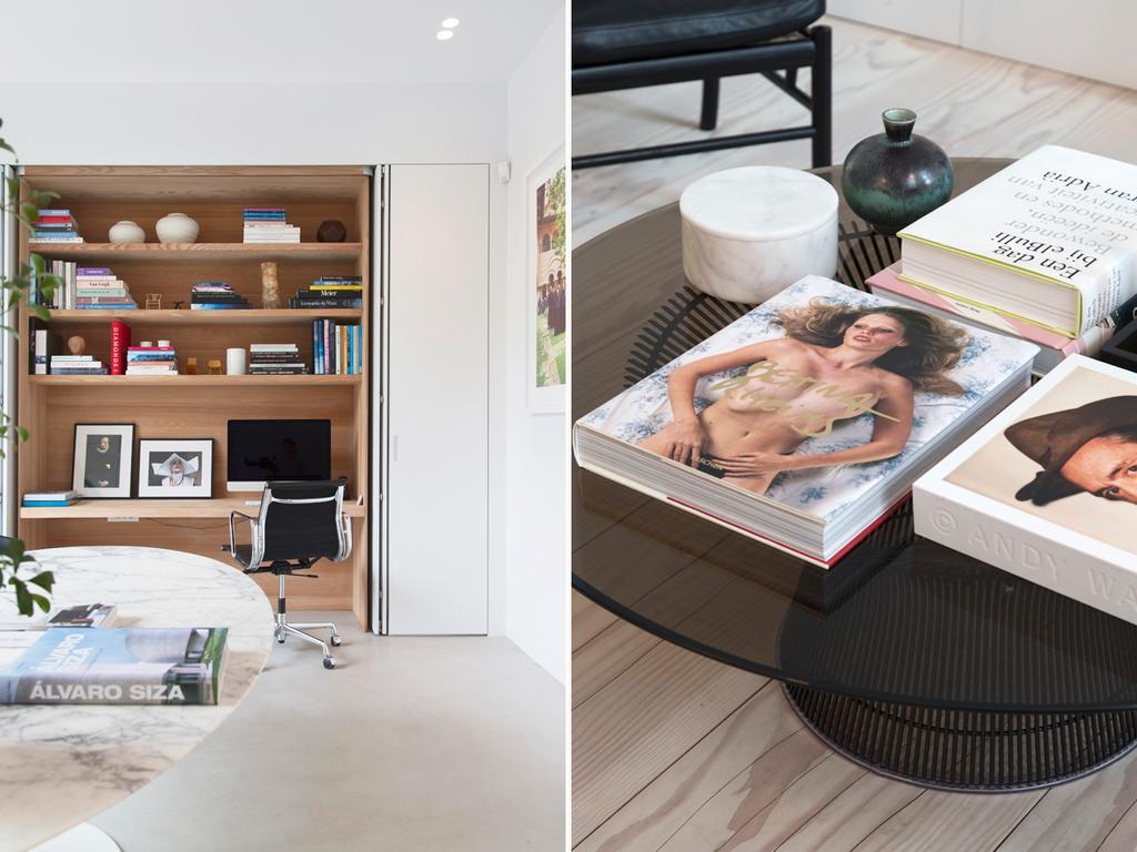 3 amdesign bureau et table avec livres