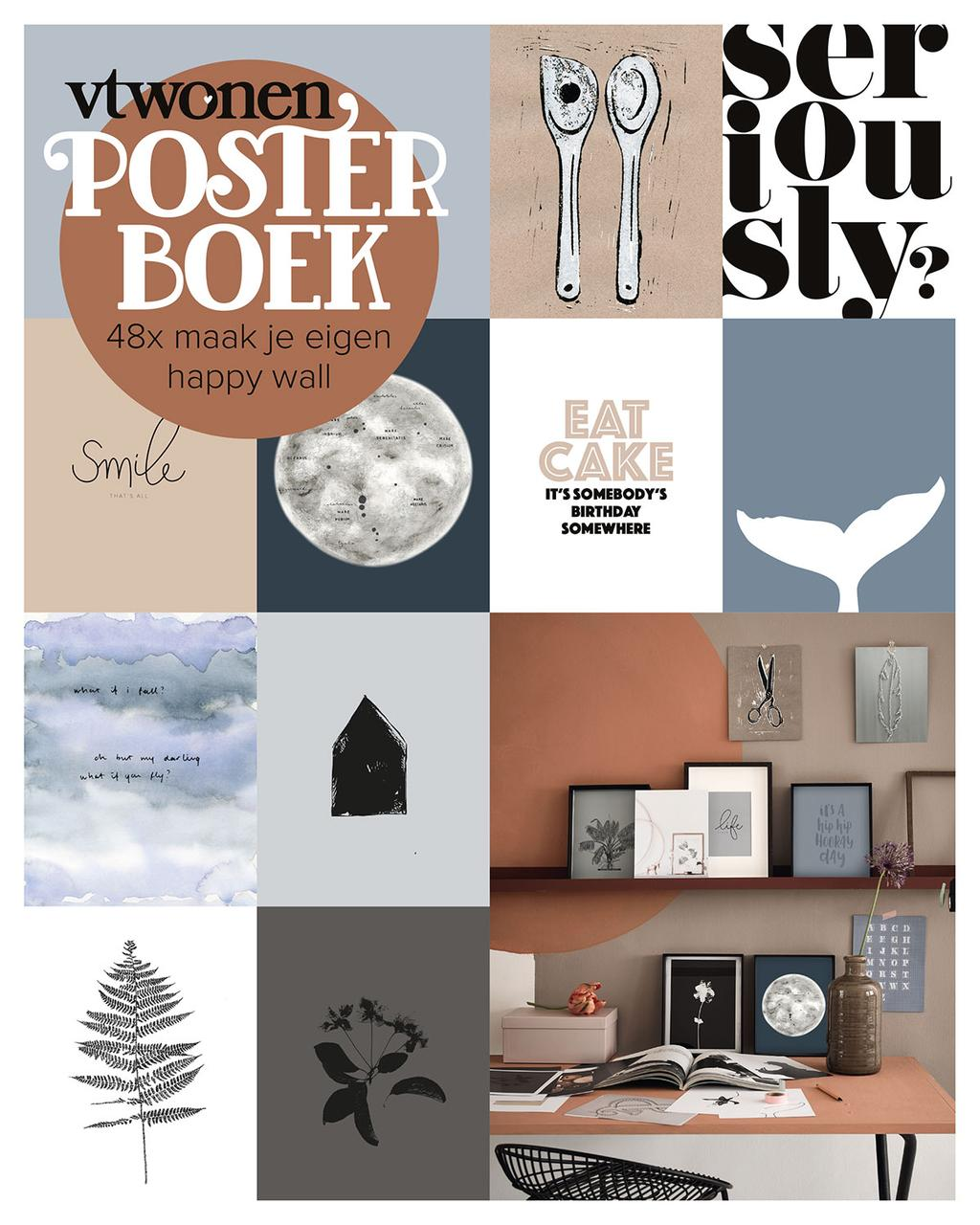 vtwonen posterboek 2018 met 48 posters