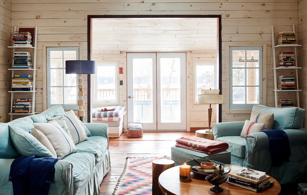 vtwonen 13-2019 | Binnenkijiken in een cottage in Wellington woonkamer