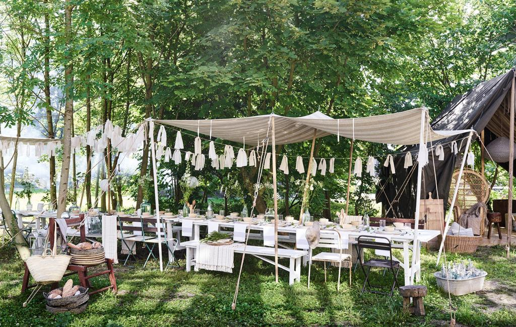 vtwonen 09-2016 | styling Cleo Scheulderman, fotografie Jeroen van der Spek | feest in de tuin geven