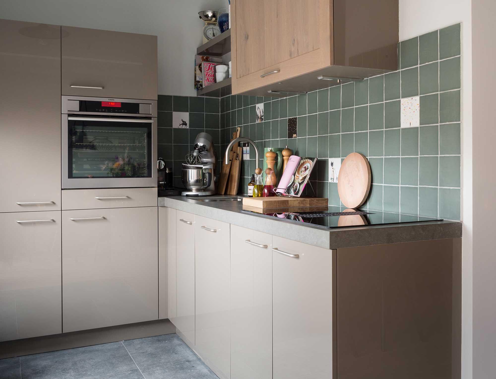 taupe keuken
