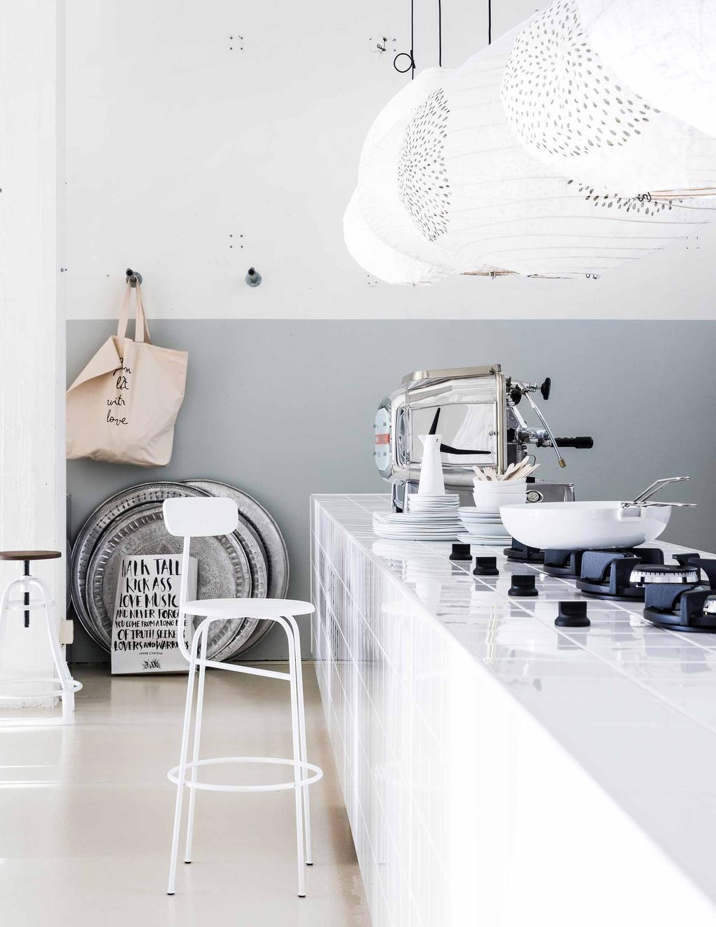 simple wit styling voor meer rust in huis