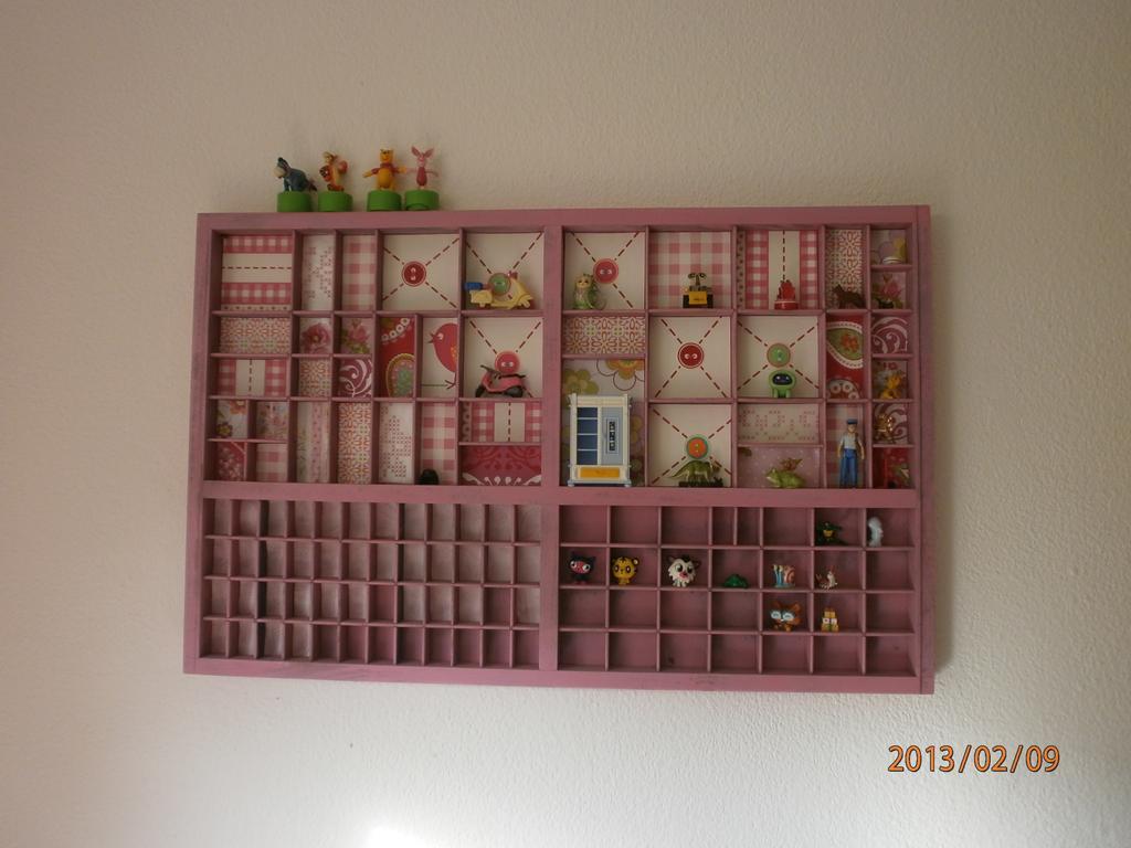 roze letterbak