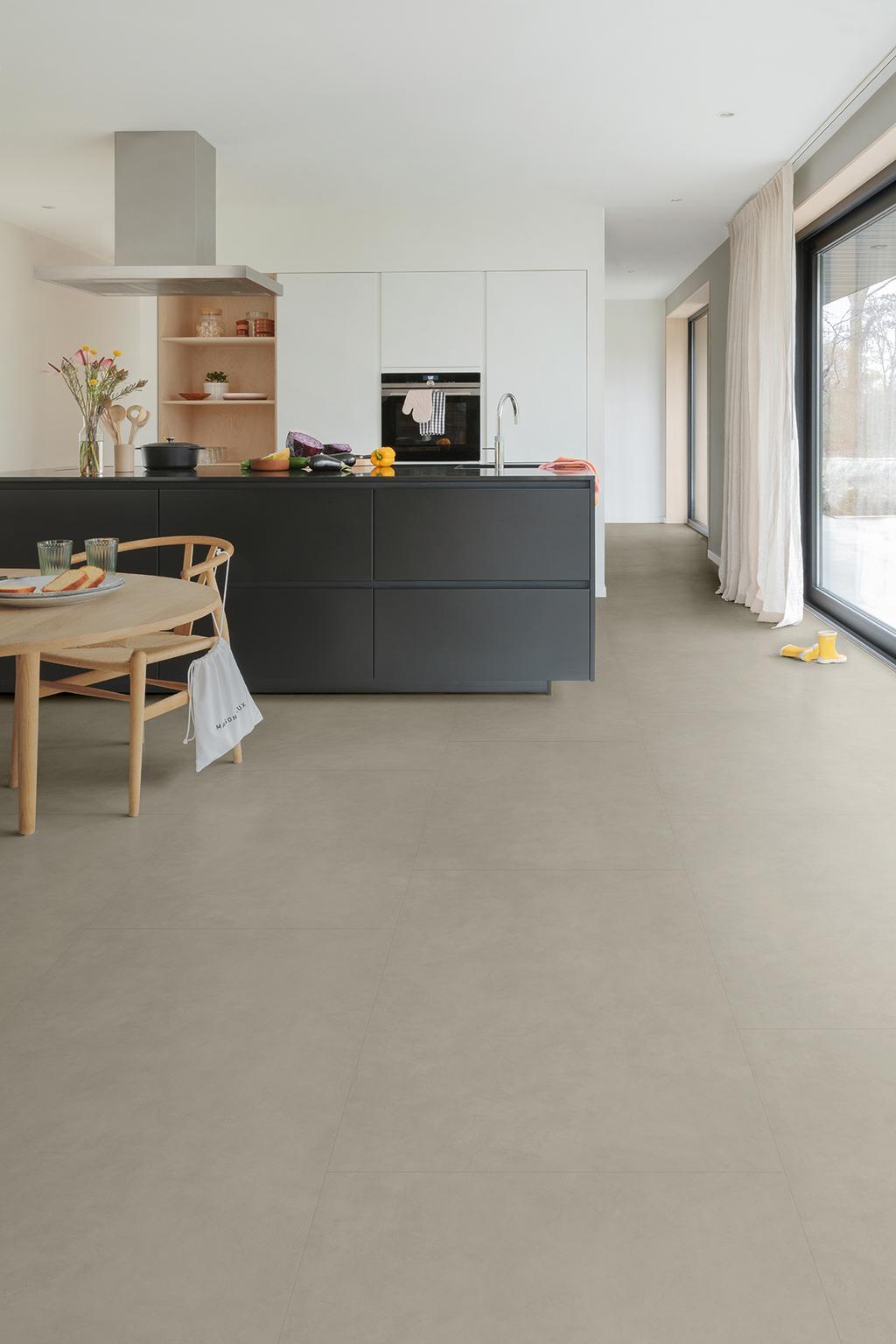 Klikvloer met betonlook van Floorify