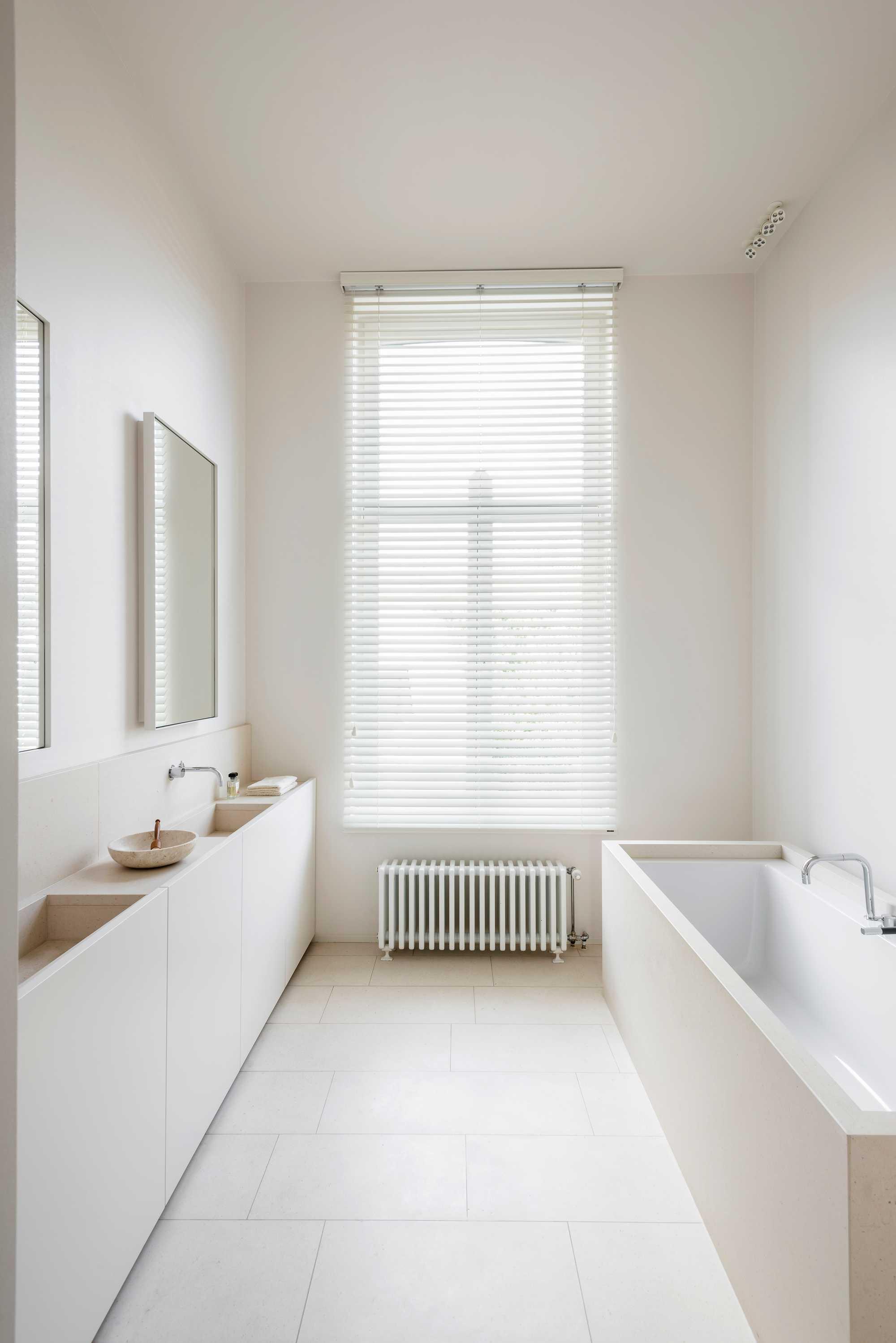 blanc lavabo bain