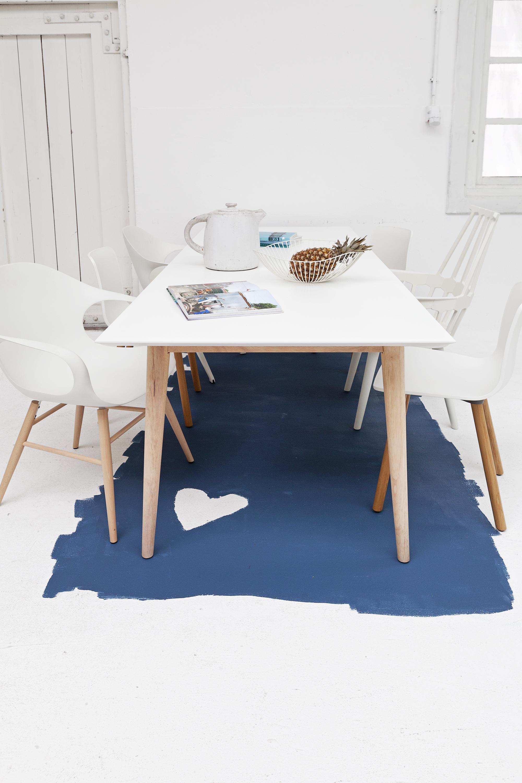 verf ideeën: karpet blauw