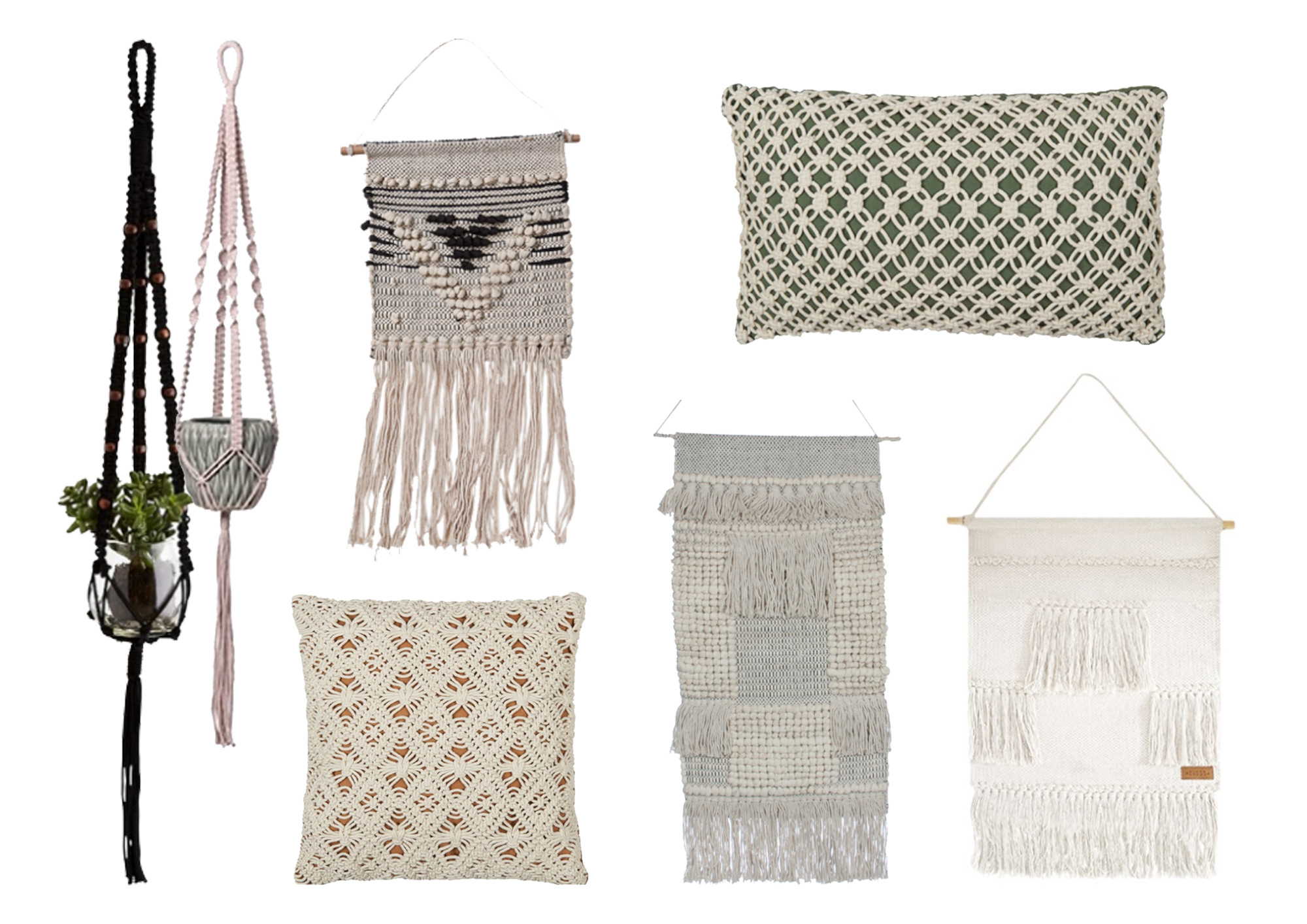 shopping macramé