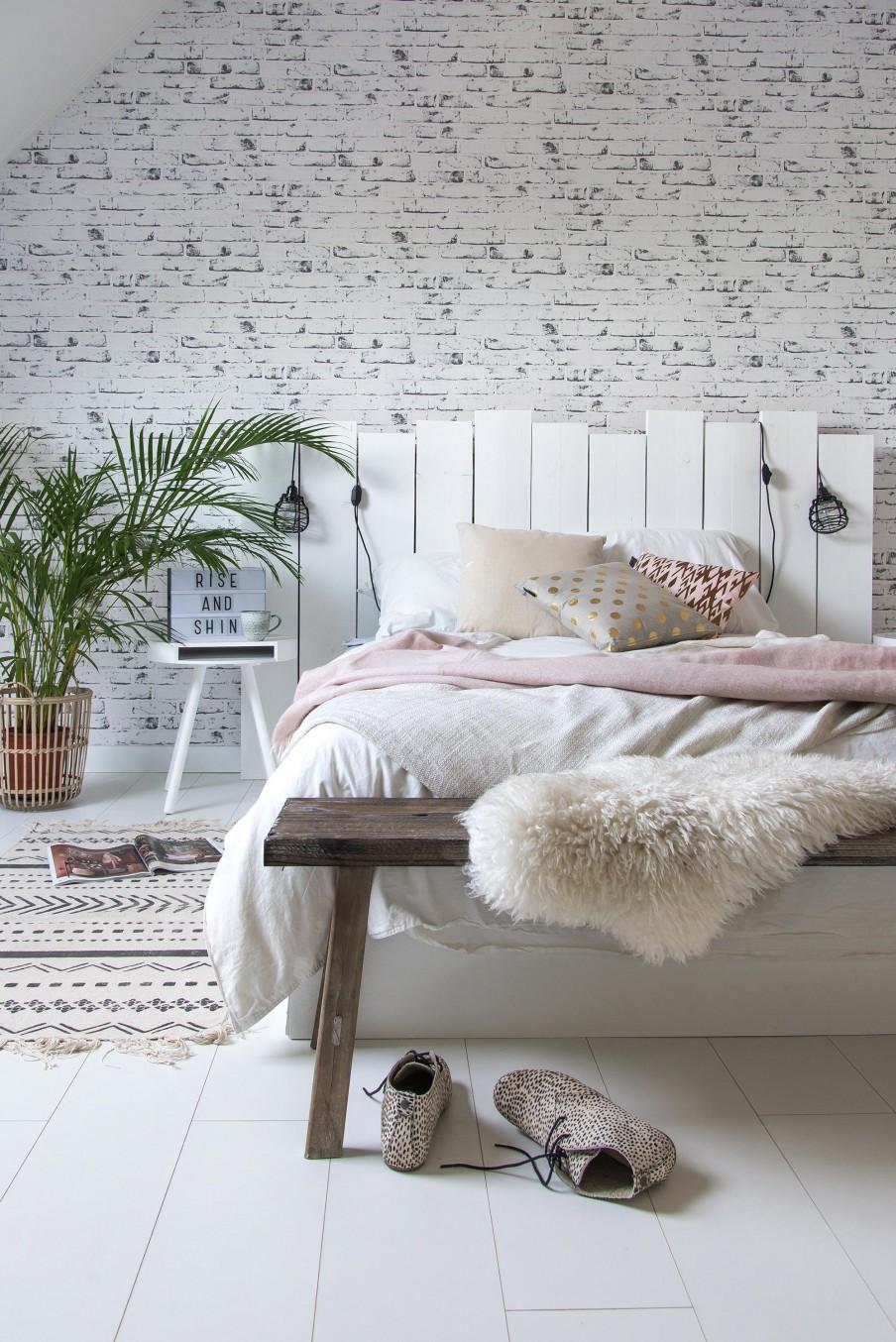 Faire Une Belle Chambre À faire soi-même: une tête de lit | vtdeco.be