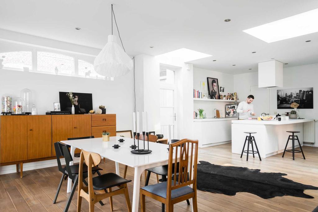 loft brussel eetkamer keuken