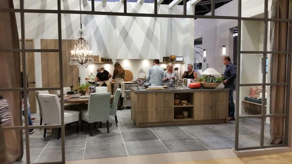 vt wonen&design beurs keuken koken