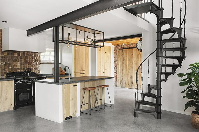 antieke bouwmaterialen keuken aoz interieur