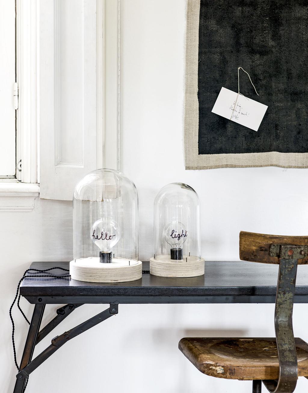 DIY: stolp wordt lamp - vtwonen