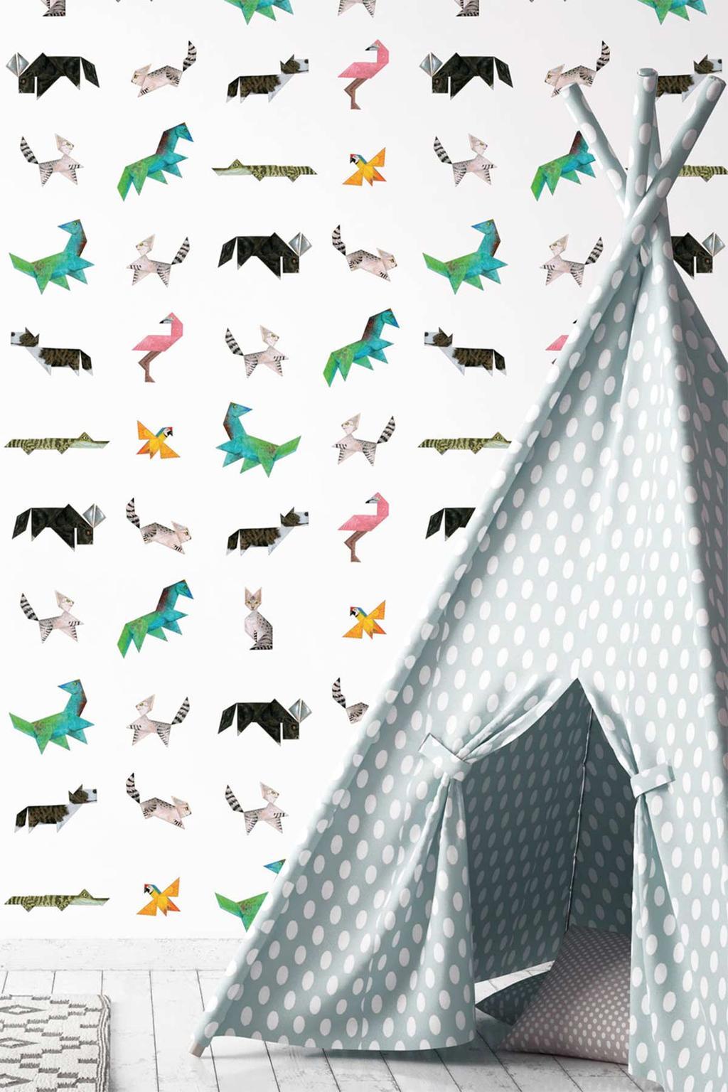 Pick of the week: tangram dierenbehang van KEK Amsterdam