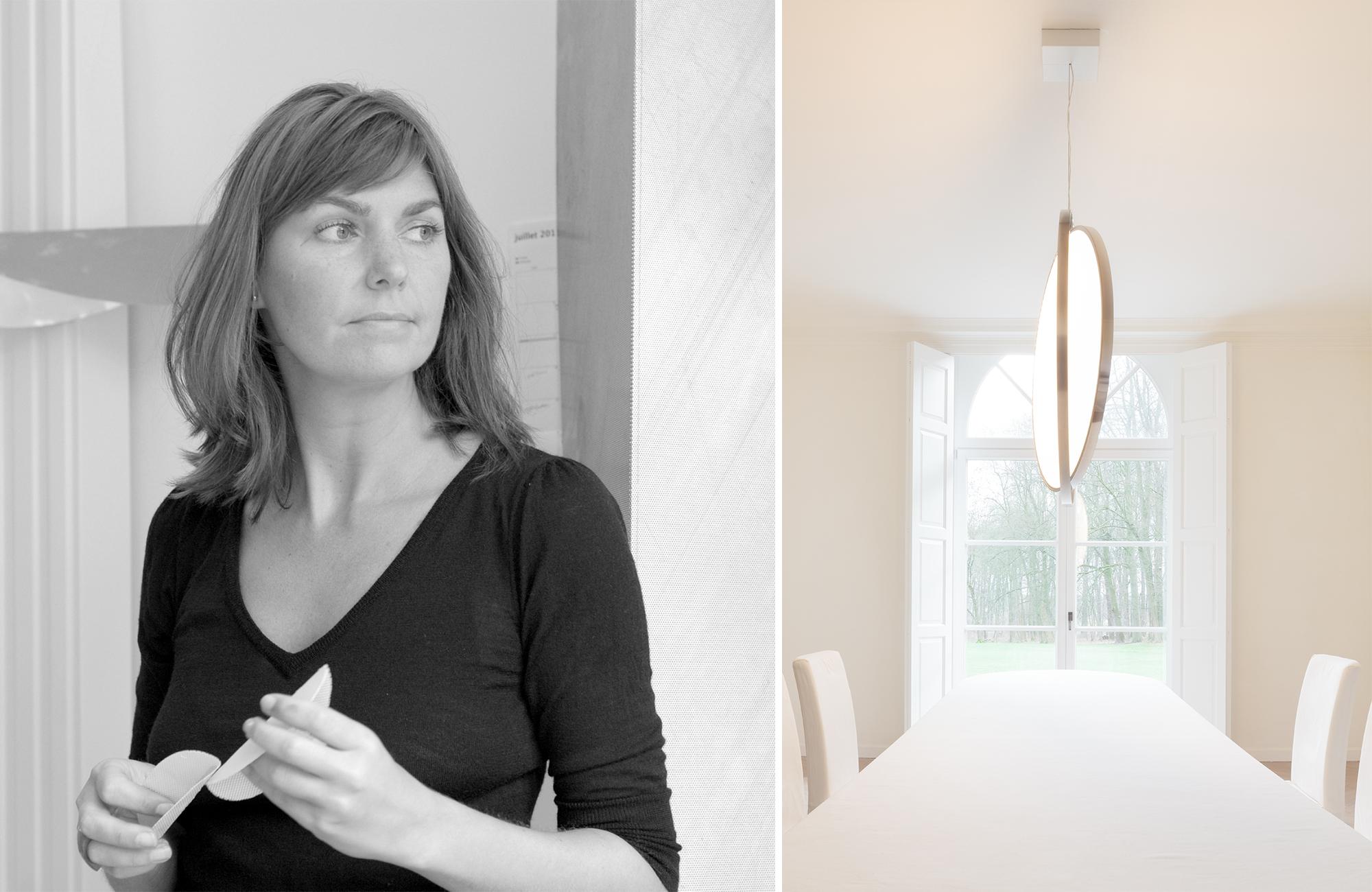 Nathalie Dewez met lichtelement design
