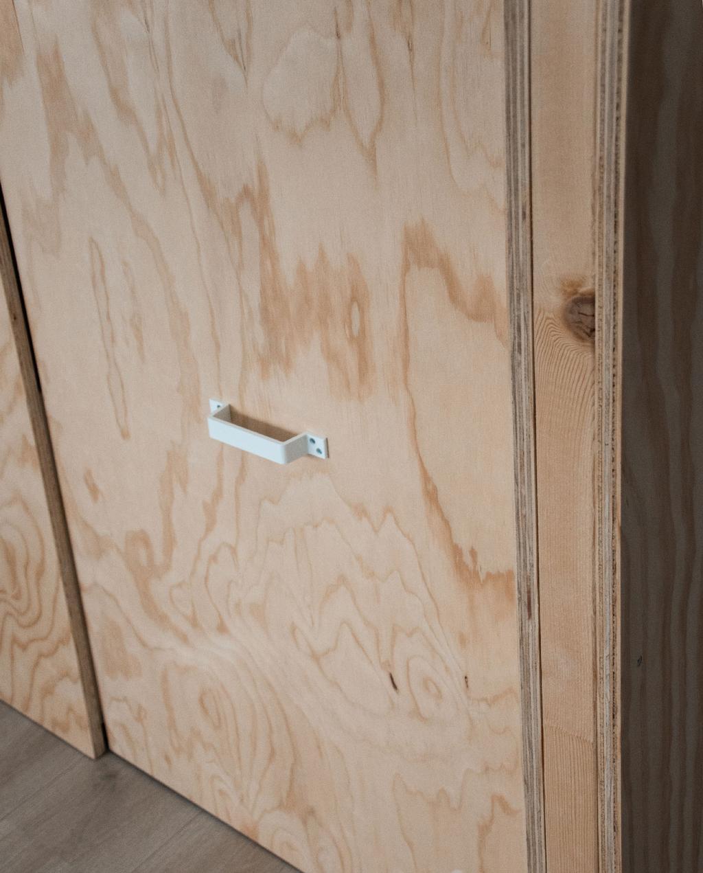 vtwonen blog rachel | hout voor warm interieur diy houten kast