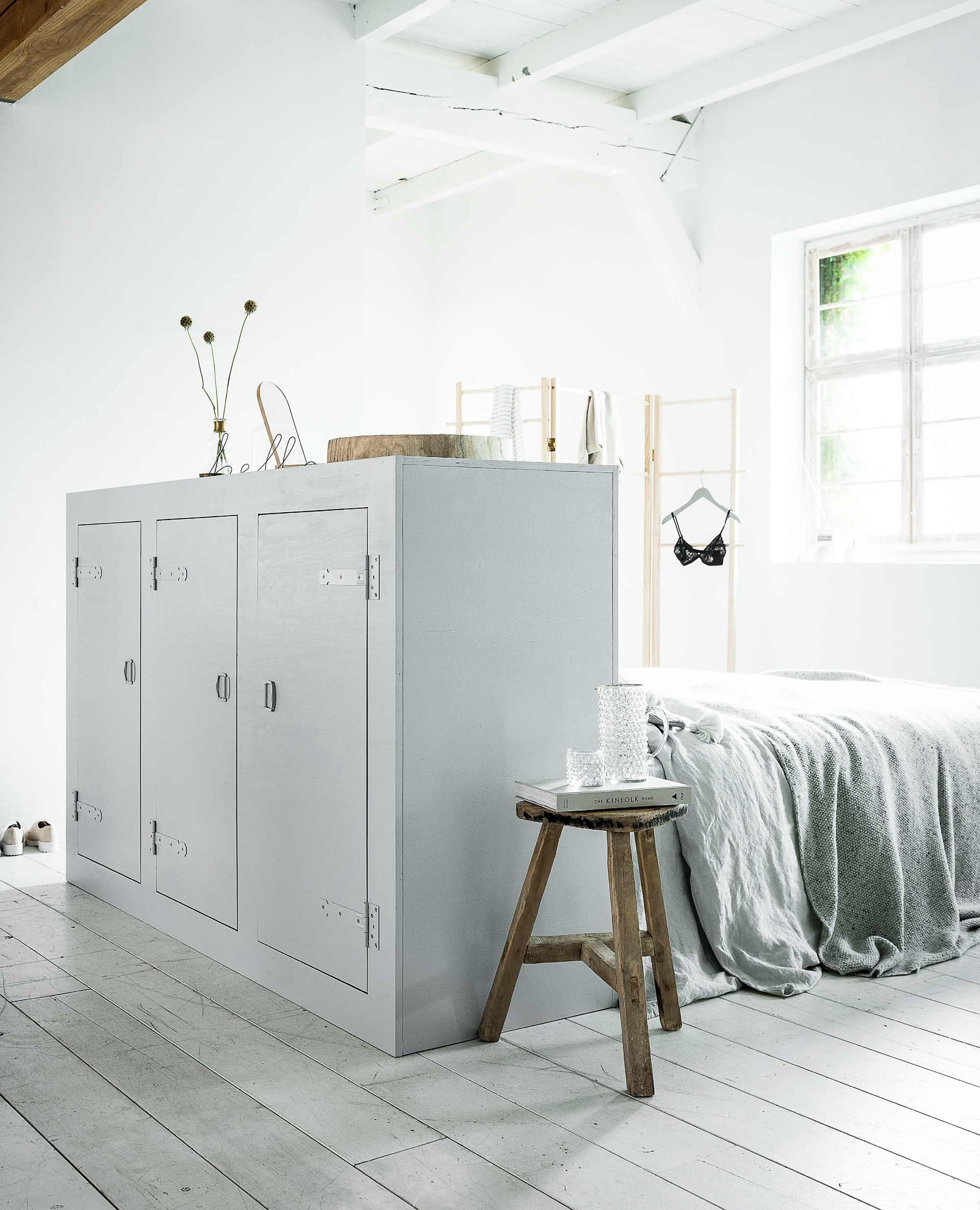 Deze Bed Achterwand Met Kast Maakt Je Slaapkamer Compleet