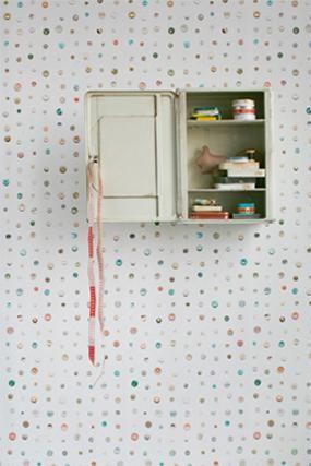 Behang Knopen van Studio Ditte