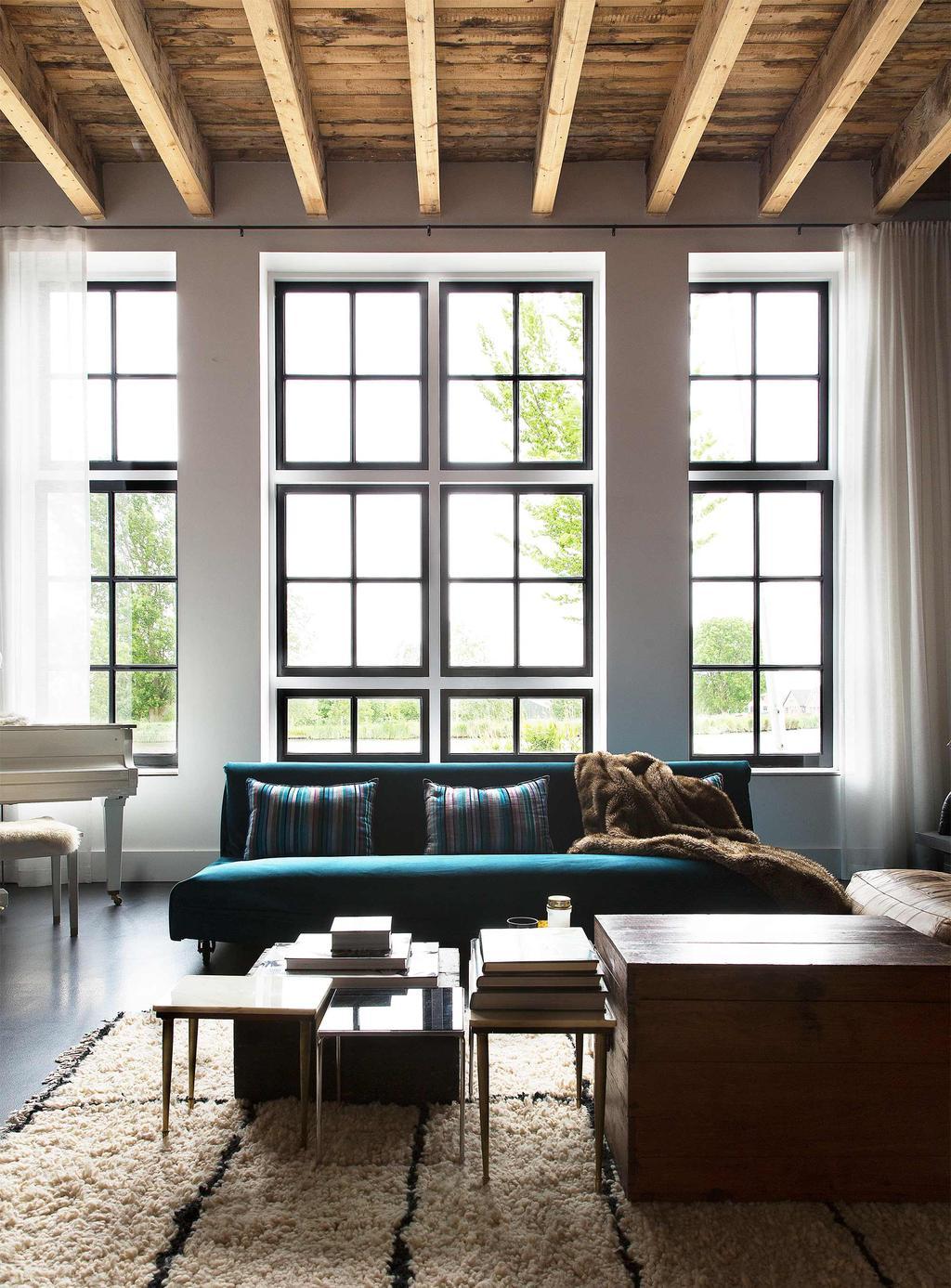houten balken plafond