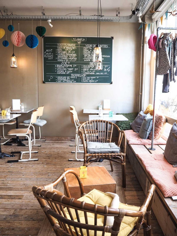 Het schattige kindercafe Lokaaltje in Middelburg.
