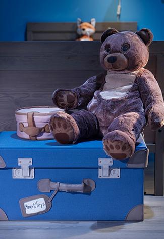 Houten speelgoedkist Ikea