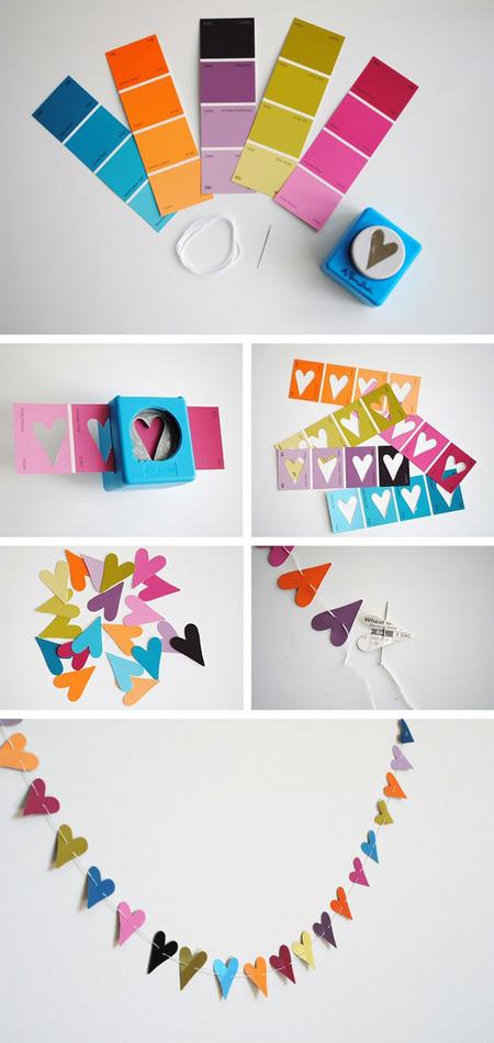 DIY met kleurstalen