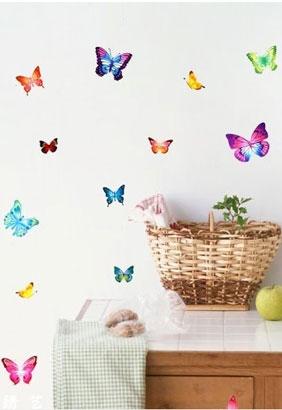 Vlinders-muursticker