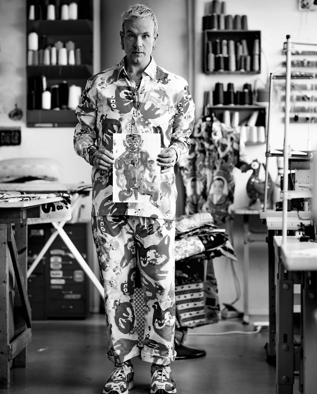 vtwonen 7-2019 | Bas Kosters atelier portret