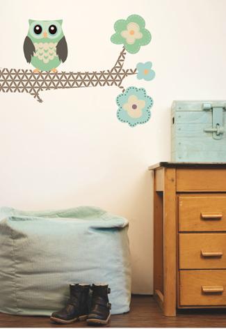 Kinderkamer uil