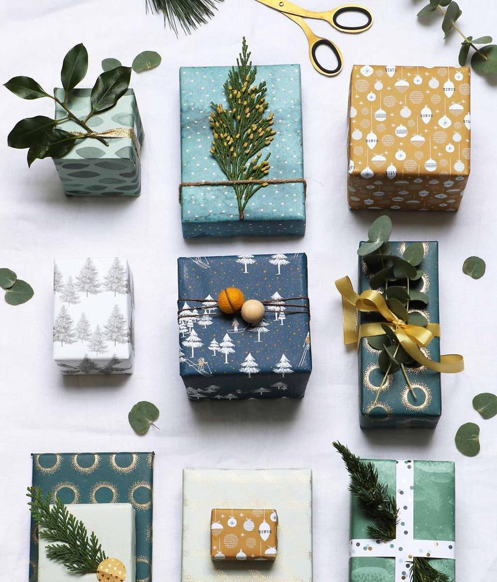 Cadeaus inpakken met groen | DIY | vtwonen