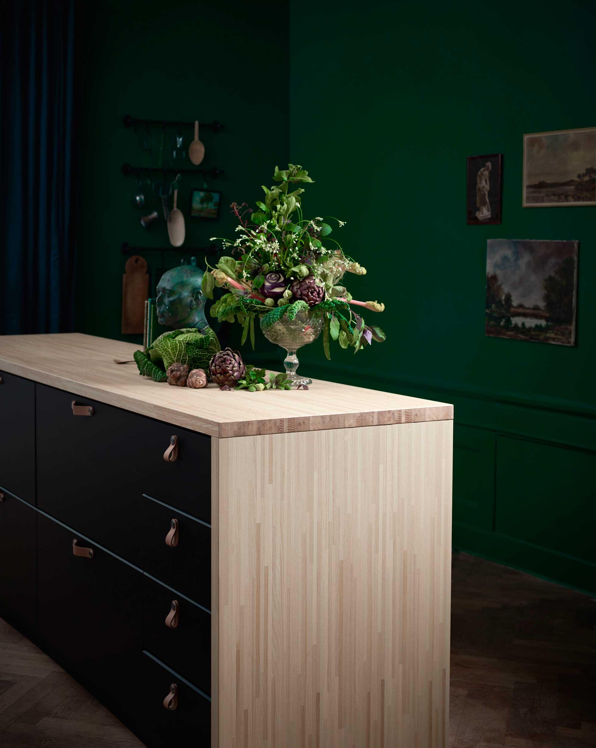 duurzaam in de IKEA catalogus 2018 KUNGSBACKA OSTERNAS