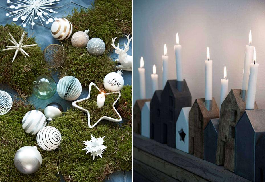 Styling: alternatieven voor de kerstboom - Kerstboom decoratie