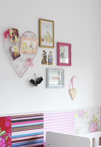 Babykamer ideeen muur