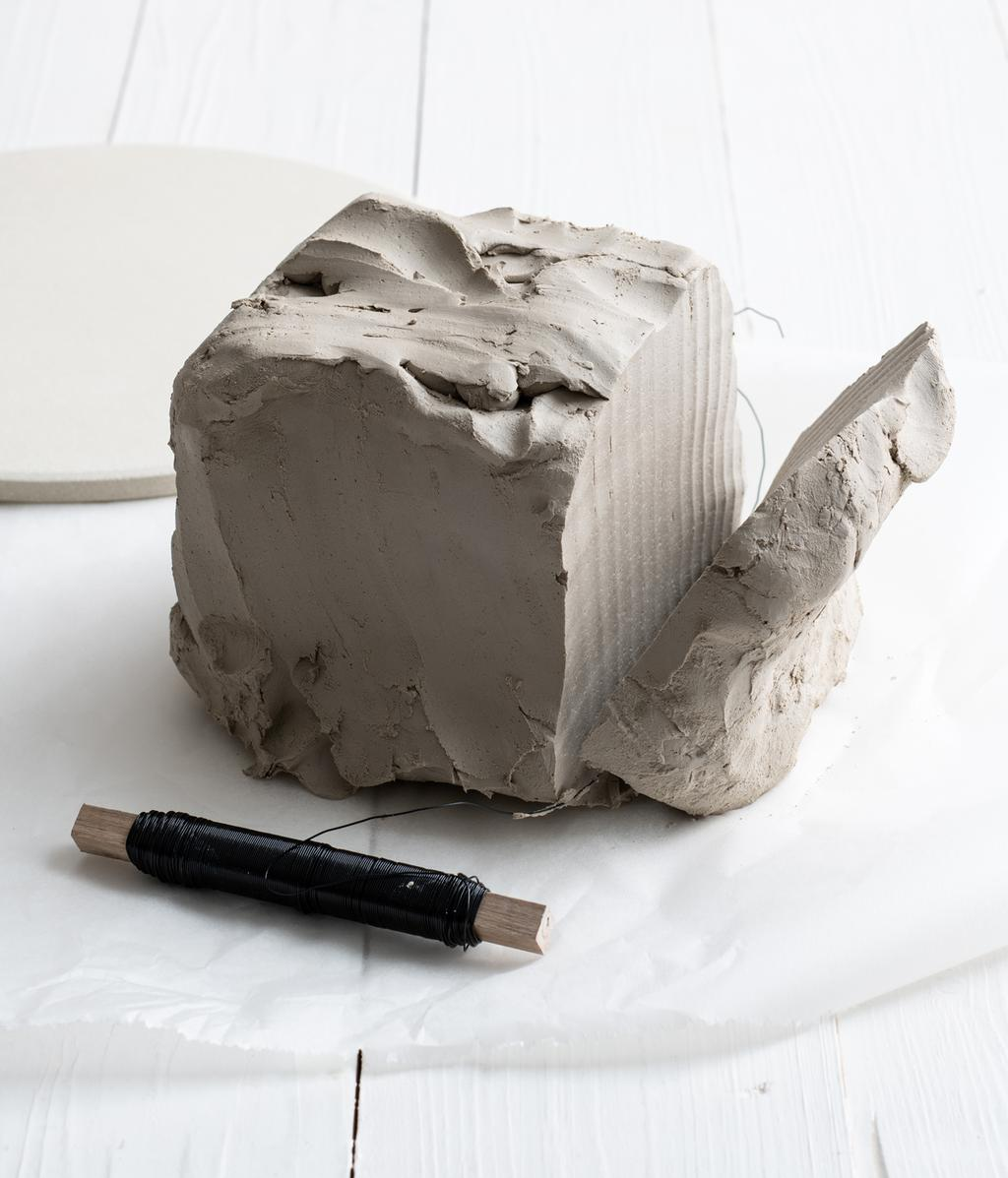 DIY tafellamp van klei   vtwonen 04-2020